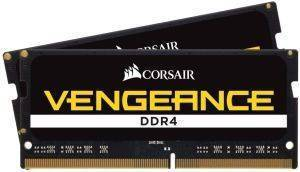 RAM CORSAIR CMSX16GX4M2A2400C16 VENGEANCE BLACK 16GB (2X8GB) SO-DIMM DDR4 2400MHZ DUAL KIT