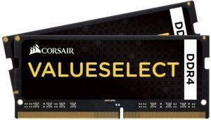 RAM CORSAIR CMSO32GX4M2A2133C15 VALUE SELECT 32GB (2X16GB) SO-DIMM DDR4 2133MHZ DUAL KIT