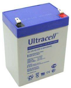 ULTRACELL UL2.9-12 12V/2.9AH REPLACEMENT BATTERY
