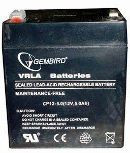 ENERGENIE BAT-12V5AH BATTERY 12V/5AH