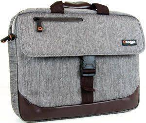 BAGGIE MESSENGER BAG GREY 15.6