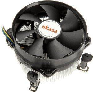 AKASA AK-CCE-7104EP CPU-COOLER WITH PLAIN-BEARING FOR 775/115X - 92M