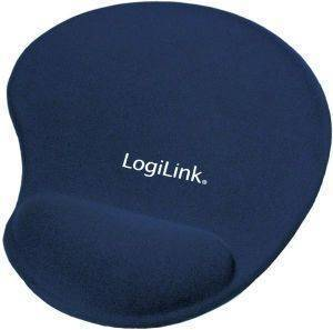 LOGILINK ID0027B MOUSEPAD WITH GEL WRIST REST BLUE