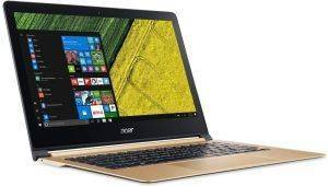 LAPTOP ACER SWIFT 7 SF713-51-M09B 13.3'' FHD INTEL CORE I5-7Y54 8GB 256GB WIN 10 GOLD CHAMPAGNE
