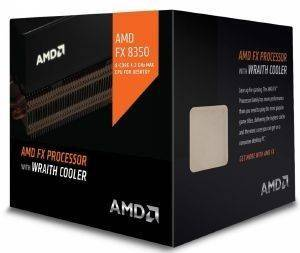 CPU AMD FX-8350 4.0GHZ 8-CORE WITH WRAITH COOLER BOX