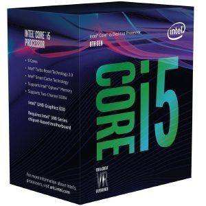 CPU INTEL CORE I5-8400 2.80GHZ LGA1151 - BOX