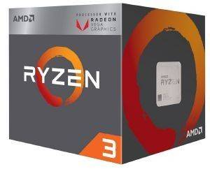 CPU AMD RYZEN 3 1300X 3.70GHZ 4-CORE WITH WRAITH STEALTH BOX