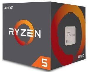 CPU AMD RYZEN 5 1400 3.40GHZ 4-CORE WITH WRAITH STEALTH BOX