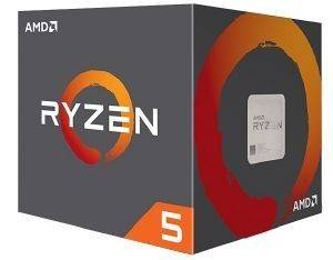 CPU AMD RYZEN 5 1600 3.60GHZ 6-CORE WITH WRAITH SPIRE BOX