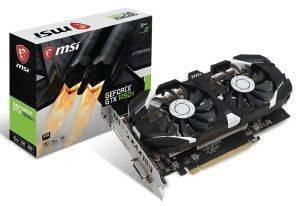 VGA MSI GEFORCE GTX1050 TI 4GT OC 4GB GDDR5 PCI-E RETAIL