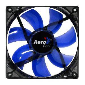 AEROCOOL LIGHTNING LED FAN 120MM BLUE
