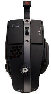 THERMALTAKE TT ESPORTS GAMING MOUSE - LEVEL 10 M HYBRID 8200 DPI LASER DIAMOND BLACK