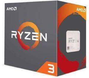 CPU AMD RYZEN 3 1200 3.40GHZ 4-CORE WITH WRAITH STEALTH BOX