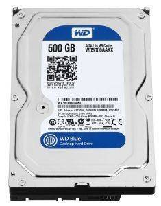 HDD WESTERN DIGITAL WD5000AZLX 500GB CAVIAR BLUE SATA3