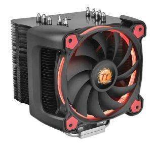 THERMALTAKE RIING SILENT 12 PRO RED CPU COOLER 120MM