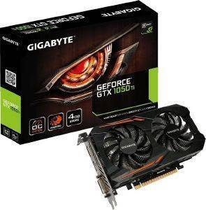 VGA GIGABYTE GEFORCE GTX1050 TI OC 4G GV-N105TOC-4GD 4GB GDDR5 PCI-E RETAIL