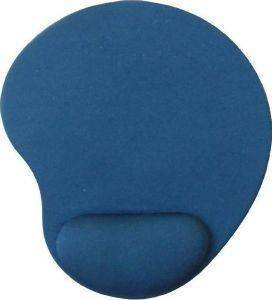 GEMBIRD MP-GEL-B GEL MOUSE PAD WITH WRIST SUPPORT BLUE