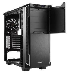 CASE BE QUIET! SILENT BASE 600 SILVER WITH WINDOW