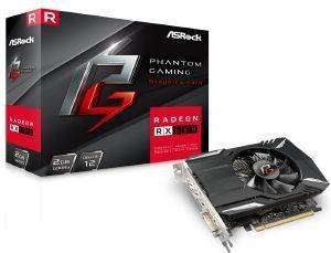 VGA ASROCK PHANTOM GAMING RADEON RX560 2G 2GB GDDR5 PCI-E RETAIL