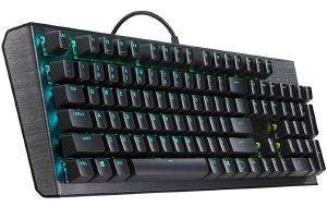 ΠΛΗΚΤΡΟΛΟΓΙΟ COOLERMASTER CK550 RGB MECHANICAL GAMING BROWN SWITCH