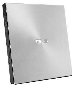 ASUS SDRW-08U7M-U ZENDRIVE U7M EXTERNAL ULTRA-SLIM DVD WRITER WITH M-DISC SUPPORT SILVER