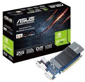 VGA ASUS GEFORCE GT710 GT710-SL-2GD5-BRK 2GB GDDR5 PCI-E RETAIL