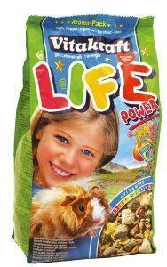 ΤΡΟΦΗ ΓΙΑ ΙΝΔΙΚΟ ΧΟΙΡΙΔΙΟ VITAKRAFT LIFE POWER (600GR) pet shop τρωκτικο τροφεσ 500 900 γραμ