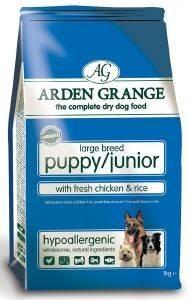 ΤΡΟΦΗ ARDEN GRANGΕ PUPPY/JUNIOR LARGE BREED ΜΕ ΚΟΤΟΠΟΥΛΟ - ΡΥΖΙ 12KG pet shop σκυλοσ ξηρη τροφη puppy εωσ 2 ετων
