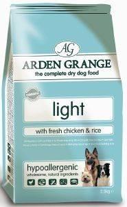 ΤΡΟΦΗ ARDEN GRANGΕ ADULT LIGHT ΚΟΤΟΠΟΥΛΟ-ΡΥΖΙ 12KG pet shop σκυλοσ ξηρη τροφη adult 2 6 ετων