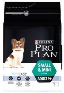 ΤΡΟΦΗ PURINA PRO PLAN DOG SMALL - MINI ADULT 9+ WITH OPTIAGE ΚΟΤΟΠΟΥΛΟ 3KG pet shop σκυλοσ ξηρη τροφη senior ανω των 6 ετων