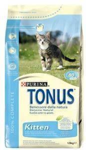 ΤΡΟΦΗ TONUS KITTEN ΜΕ ΚΟΤΟΠΟΥΛΟ 1.5KG pet shop γατα ξηρη τροφη kitten εωσ 1 ετοσ