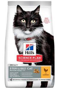 ΤΡΟΦΗ HILLS SP FELINE MATURE STERCAT CHICKEN 1.5KG