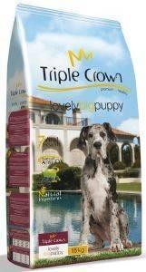 ΤΡΟΦΗ TRIPLE CROWN LOVELY BIG PUPPY ΜΕ ΚΟΤΟΠΟΥΛΟ - ΡΥΖΙ 15KG pet shop σκυλοσ ξηρη τροφη puppy εωσ 2 ετων