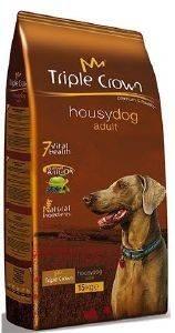 ΤΡΟΦΗ TRIPLE CROWN HOUSY DOG ADULT ΜΕ ΚΟΤΌΠΟΥΛΟ ΚΑΙ ΡΥΖΙ 15KG pet shop σκυλοσ ξηρη τροφη adult 2 6 ετων