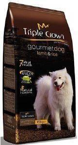 ΤΡΟΦΗ TRIPLE CROWN GOURMET DOG LAMB - RICE 3KG pet shop σκυλοσ ξηρη τροφη adult 2 6 ετων
