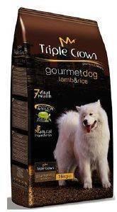 ΤΡΟΦΗ TRIPLE CROWN GOURMET DOG LAMB - RICE 15KG pet shop σκυλοσ ξηρη τροφη adult 2 6 ετων
