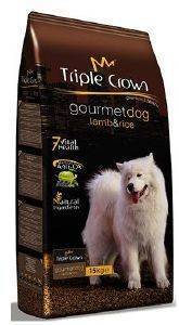 ΤΡΟΦΗ TRIPLE CROWN GOURMET DOG LAMB & RICE 15KG