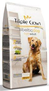 ΤΡΟΦΗ TRIPLE CROWN SBELTIC DOG LIGHT ADULT 3KG