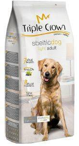 ΤΡΟΦΗ TRIPLE CROWN SBELTIC DOG LIGHT ADULT 15KG
