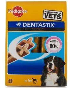DENTASTIX PEDIGREE LARGE 28ΤΜΧ pet shop σκυλοσ κοκκαλα λιχουδιεσ οδοντικα sticks