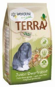 ΤΡΟΦΗ ΓΙΑ KOYNEΛΙΑ VADIGRAN TERRA JUNIOR - DWARF RABBIT ΜΙΝΙ 1KG pet shop τρωκτικο τροφεσ 1 3 κιλα