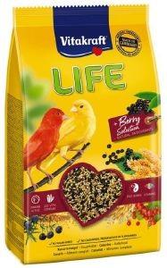 """ΤΡΟΦΗ ΓΙΑ ΚΑΝΑΡΙΝΙΑ VITAKRAFT HIGH PREMIUM LIFE """"POWER OF NATURE"""" (800GR) pet shop πτηνο τροφεσ τροφεσ"""