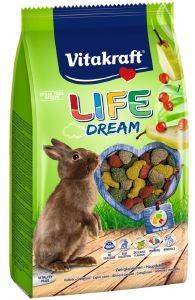 ΤΡΟΦΗ ΓΙΑ ΚΟΥΝΕΛΙΑ VITAKRAFT LIFE DREAM HIGH PREMIUM 600GR