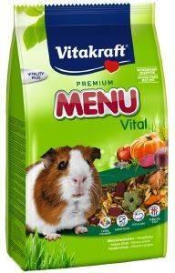 ΤΡΟΦΗ ΓΙΑ ΙΝΔΙΚΑ ΧΟΙΡΙΔΙΑ VITAKRAFT MENU VITAL PREMIUM 1KG pet shop τρωκτικο τροφεσ 1 3 κιλα