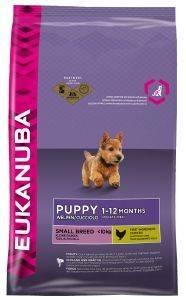 ΤΡΟΦΗ ΣΚΥΛΟΥ EUKANUBA PUPPY SMALL BREEDS ΚΟΤΟΠΟΥΛΟ 1KG pet shop σκυλοσ ξηρη τροφη puppy εωσ 2 ετων