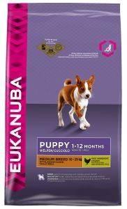 ΤΡΟΦΗ ΣΚΥΛΟΥ EUKANUBA PUPPY MEDIUM BREEDS ΚΟΤΟΠΟΥΛΟ 1KG pet shop σκυλοσ ξηρη τροφη puppy εωσ 2 ετων