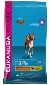 ΤΡΟΦΗ ΣΚΥΛΟΥ EUKANUBA MATURE MEDIUM BREEDS ΚΟΤΟΠΟΥΛΟ 3KG pet shop σκυλοσ ξηρη τροφη senior ανω των 6 ετων