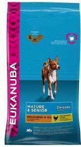 ΤΡΟΦΗ ΣΚΥΛΟΥ EUKANUBA MATURE MEDIUM BREEDS ΚΟΤΟΠΟΥΛΟ 12KG pet shop σκυλοσ ξηρη τροφη senior ανω των 6 ετων