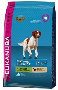 ΤΡΟΦΗ ΣΚΥΛΟΥ EUKANUBA MATURE ALL BREEDS ΑΡΝΙ ΡΥΖΙ 2.5KG pet shop σκυλοσ ξηρη τροφη senior ανω των 6 ετων