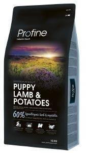 ΤΡΟΦΗ PROFINE PUPPY ΜΕ ΑΡΝΙ - ΠΑΤΑΤΑ 15KG pet shop σκυλοσ ξηρη τροφη puppy εωσ 2 ετων